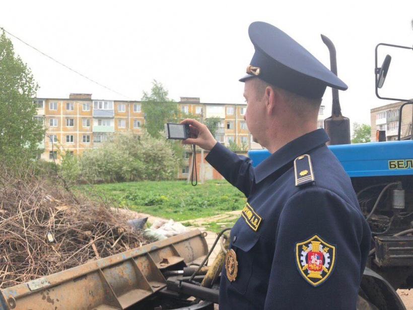 Благодаря Госадмтехнадзору с начала года в Волоколамском округе ликвидировано три несанкционированные свалки