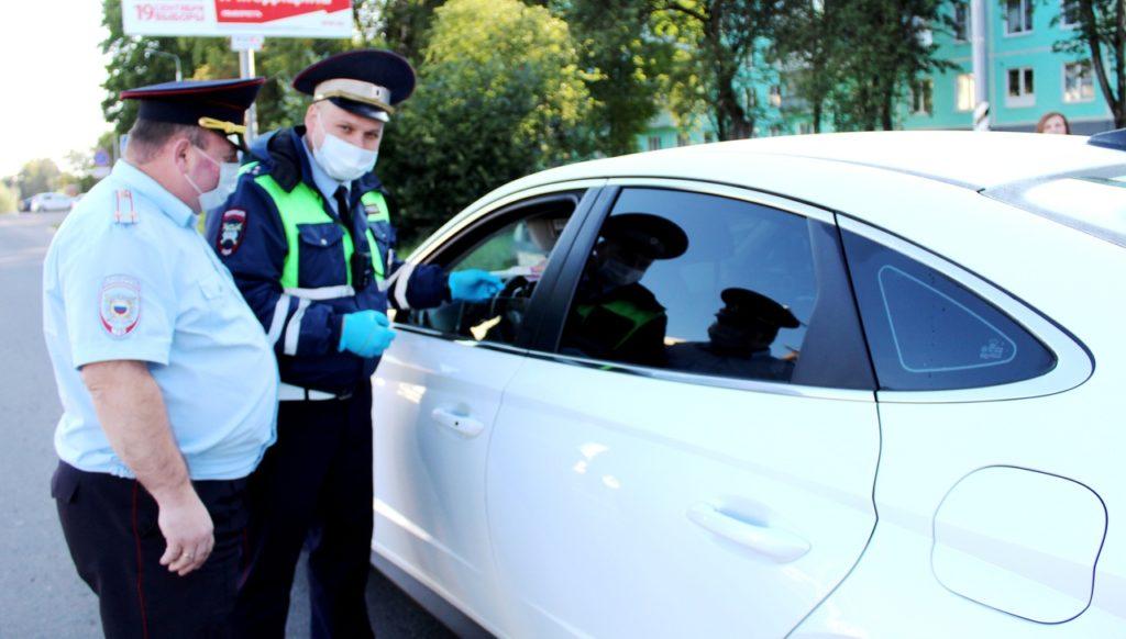 В Волоколамске выявляют в транспортном потоке водителей, лишенных права управления транспортными средствами или не имеющих такого права