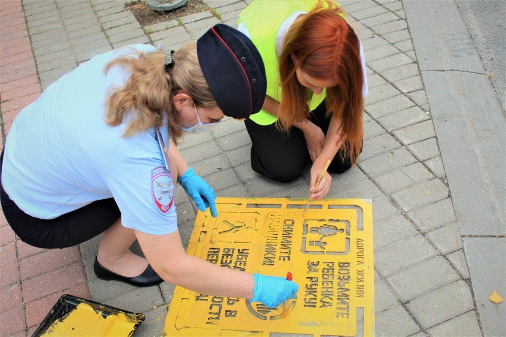 В Волоколамске автоинспекторы и ЮИДовцы провели информационную акцию для пешеходов