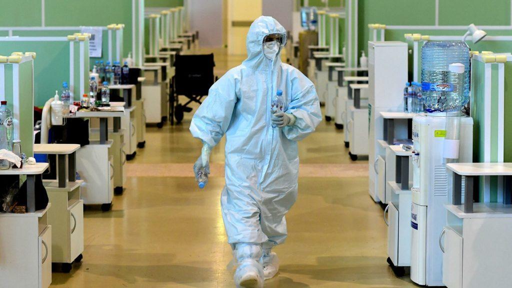 В России выявили 19 706 новых случаев заражения коронавирусом
