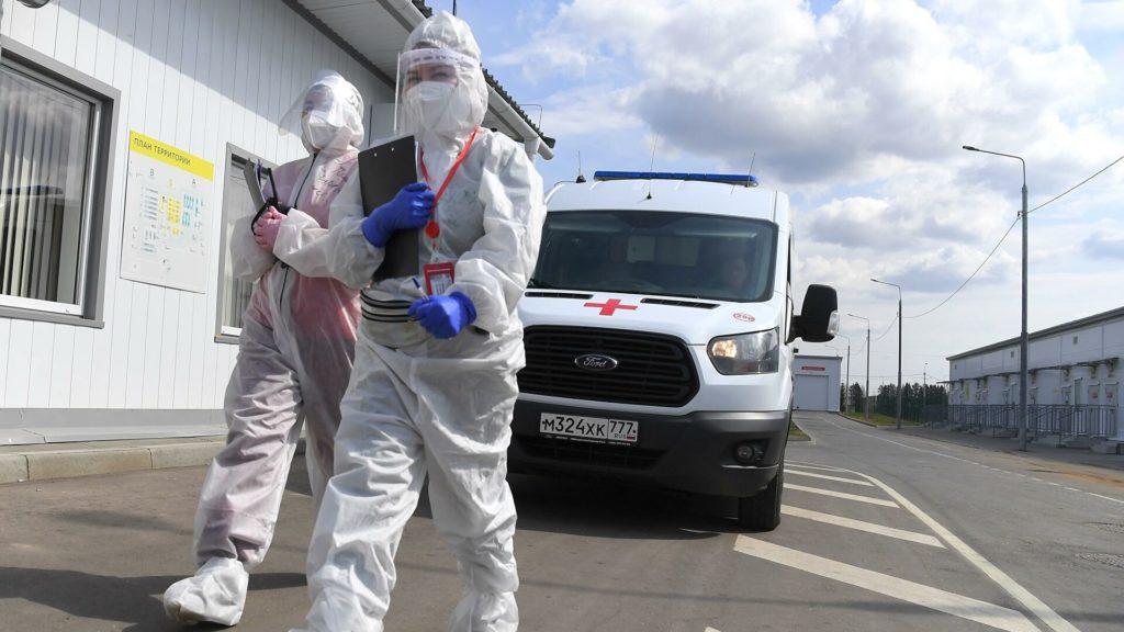 В России за сутки выявили 21 379 случаев заражения коронавирусом