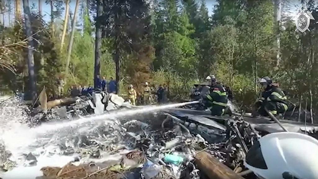 Установлена причина крушения Ил-112В в Подмосковье, сообщили СМИ