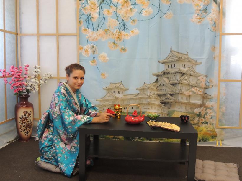 В Шаховской библиотеке прошел День открытых дверей в японском стиле