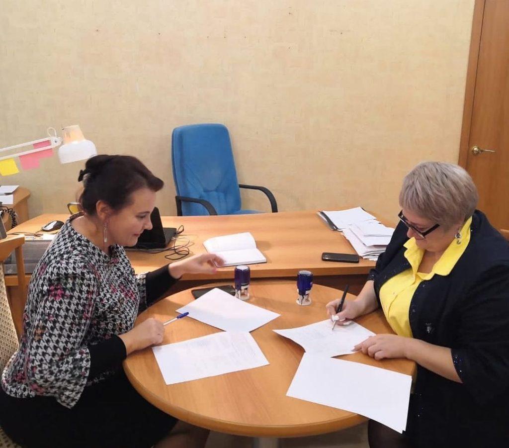 Договор о сетевом взаимодействии подписан в Волоколамске