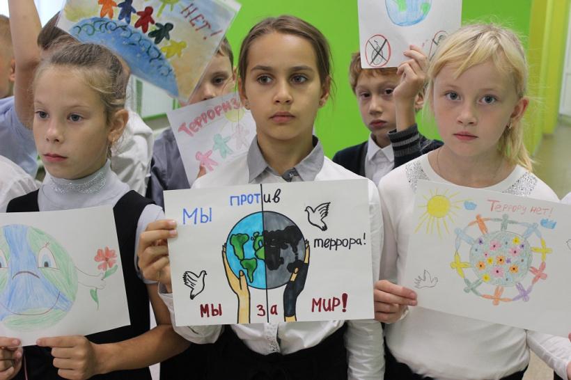 Сотрудники полиции провели для школьников Волоколамска акцию «Мир детям»