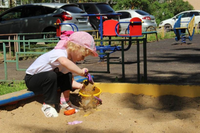 В 2022 году на территории горокруга Шаховская появятся три новые детские игровые площадки