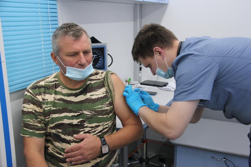 В горокруге Шаховская продолжается вакцинация от гриппа