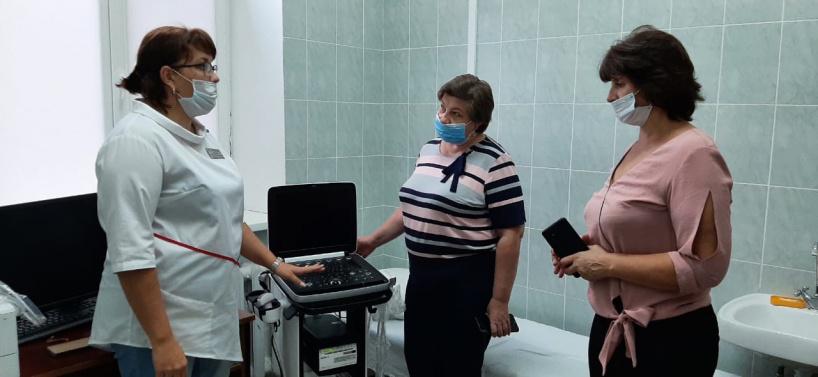 В Шаховскую больницу поступает новое оборудование