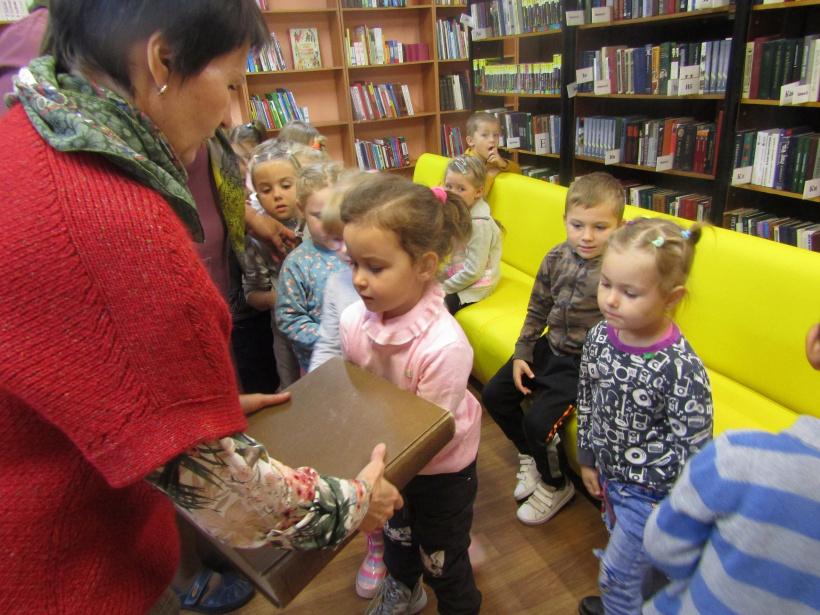 Лотошинские дошкольники познакомились с библиотекой