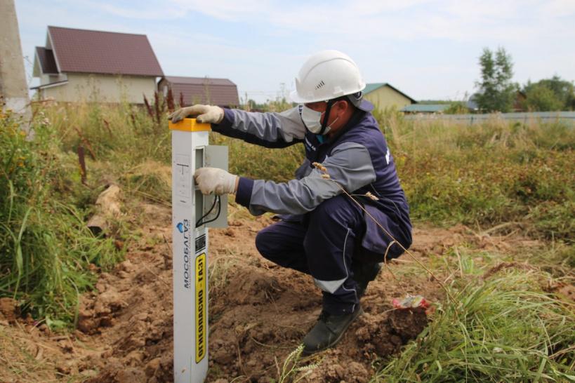 В городском округе Лотошино идут работы по «Социальной газификации»