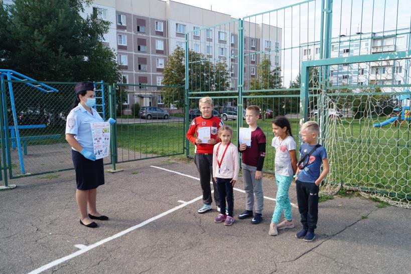 В городском округе Лотошино прошла профилактическая акция «Безопасный двор»