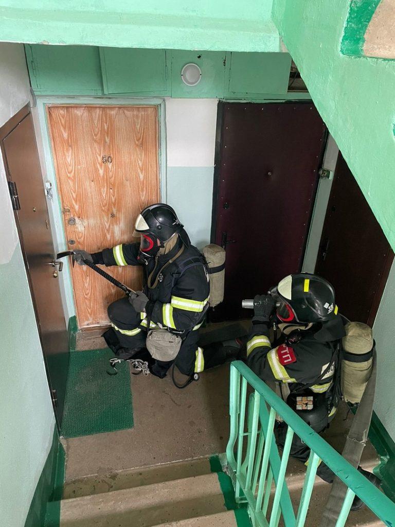 Условный пожар ликвидировали в Волоколамском округе