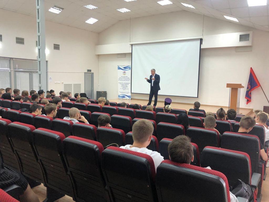 В Волоколамских средне-профессиональных учебных заведениях прошли профилактические беседы
