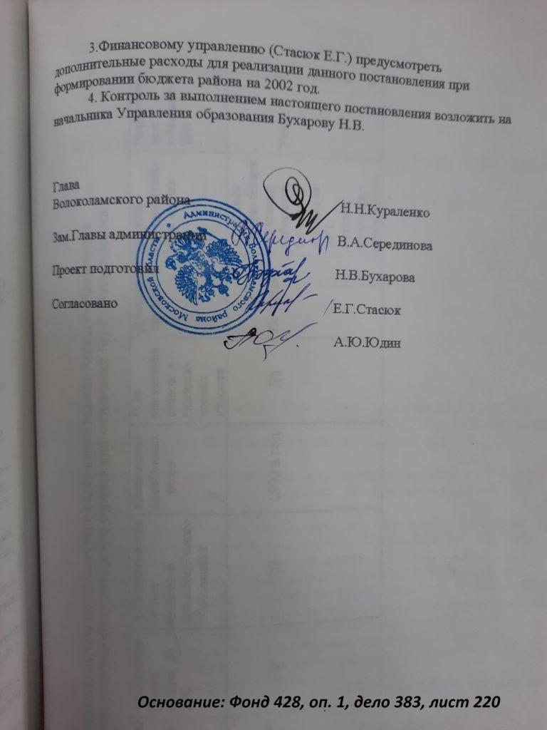 20 лет назад  Волоколамской общеобразовательной  средней школе № 1  присвоен статус «Гимназия № 1 г. Волоколамска»