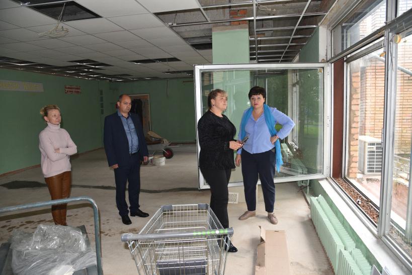 В Лотошинской библиотеке идут ремонтные работы