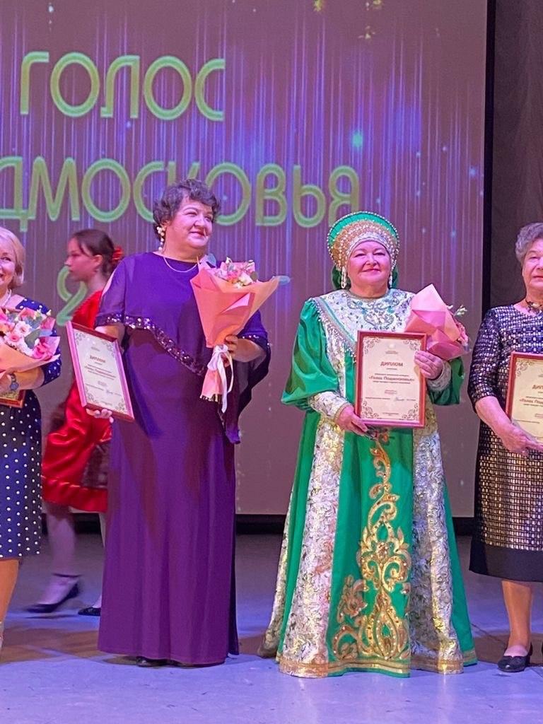 Одна из финалисток Голоса Подмосковья – из Волоколамского округа