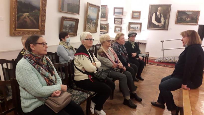 Поездка в картинную галерею