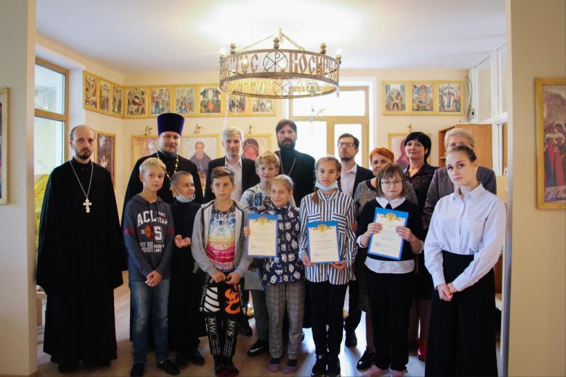 Освящение шаховской воскресной школы