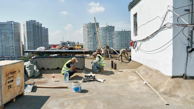 План по ремонту крыш на 2021 год в Подмосковье выполнили на 47,1%