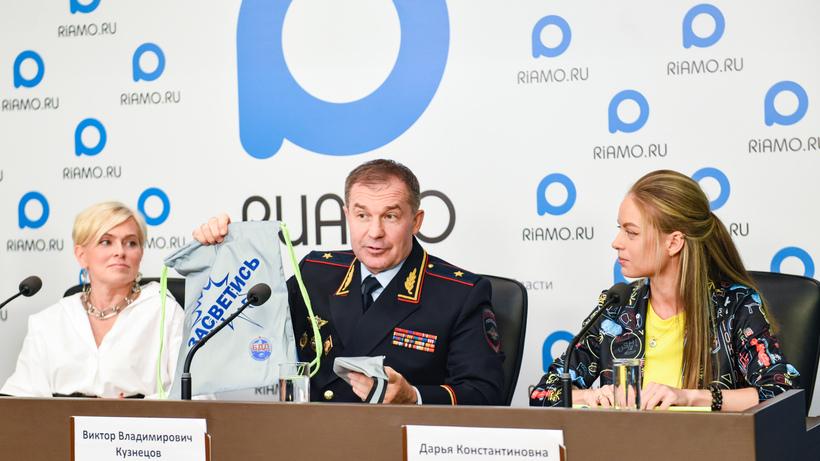 В Подмосковье стартовал социальный раунд по БДД «Засветись!»