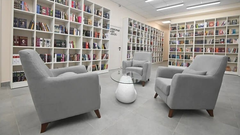 Еще 3 модельные библиотеки появятся в Подмосковье в 2022 году