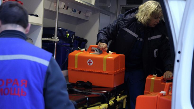 Две девочки пострадали в ДТП с маршруткой на трассе в Подмосковье