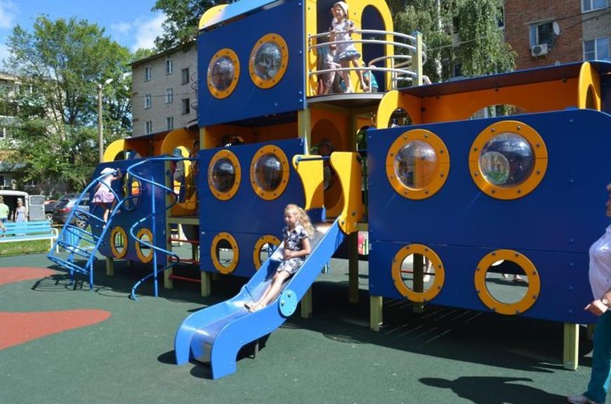 Волоколамцы могут выбрать места для установки губернаторских детских площадок