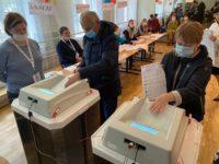 В Волоколамском округе стартовал второй день голосования