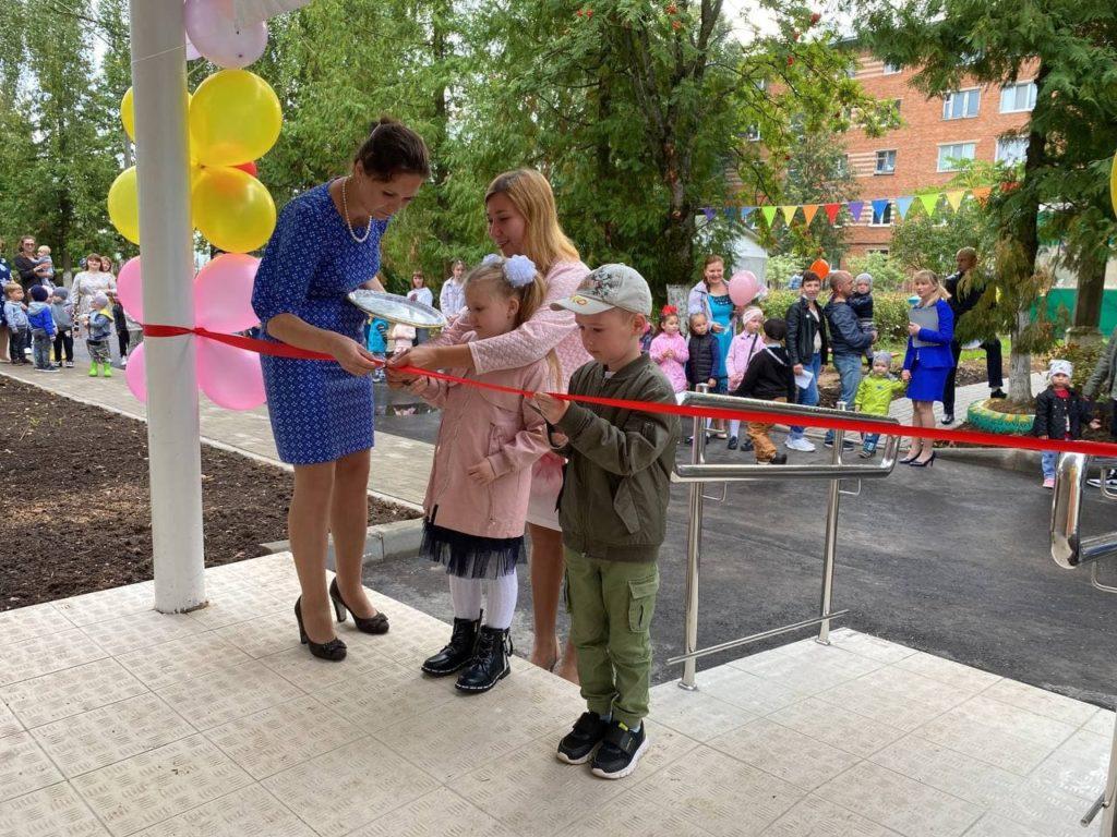 Открытие детских садов после капитального ремонта