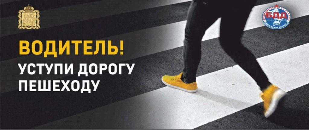 Профилактическое мероприятие «Пешеход» на территории Волоколамского округа