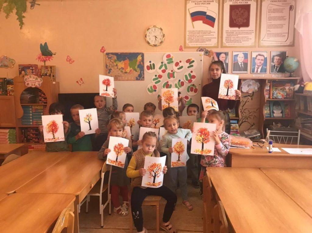 «Час творчества» для волоколамских дошкольников