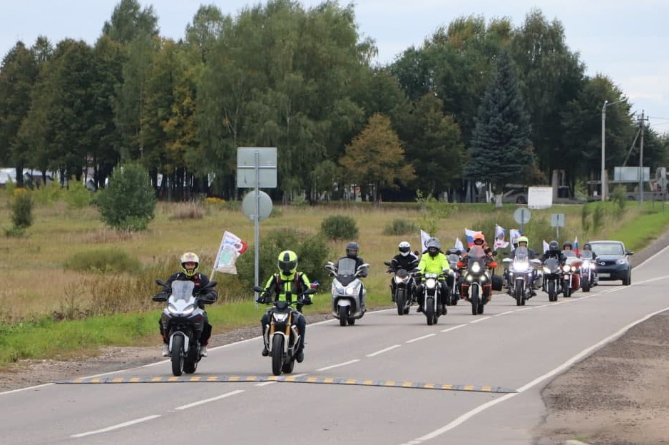 Волоколамск принял участников мотопробега