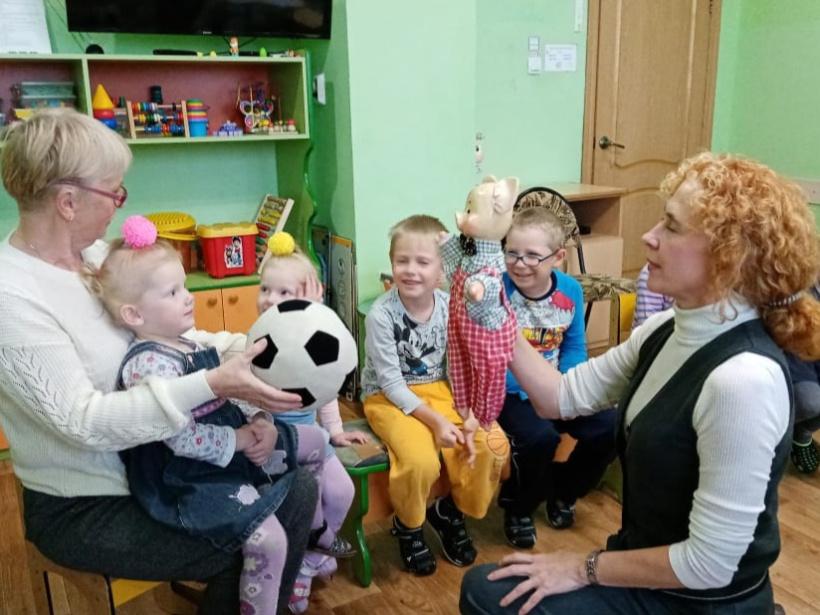 Клуб «Малышок» - для реабилитации малышей из Волоколамского СРЦН