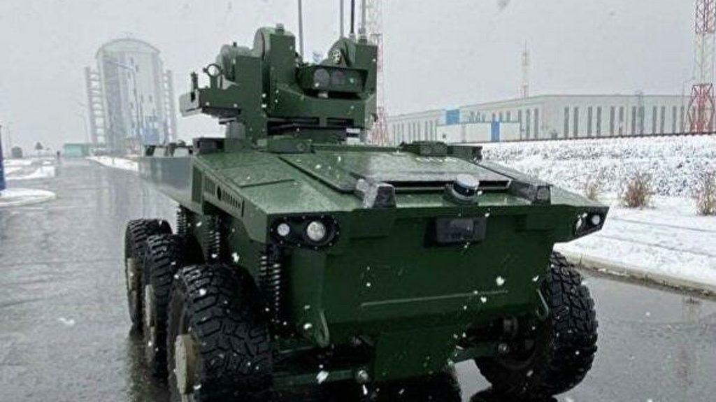 На российском космодроме впервые появился робот-охранник