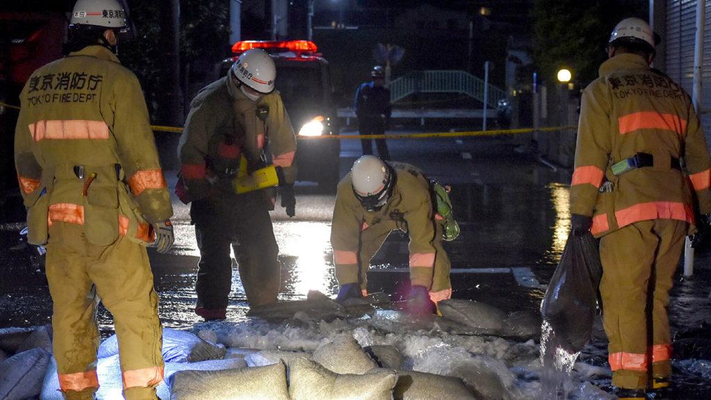 Число пострадавших при землетрясении в Японии возросло до 32 человек