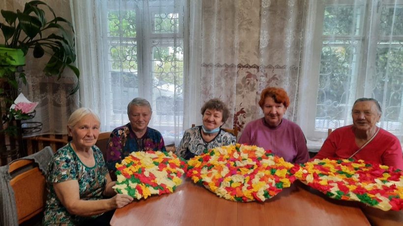 Волоколамские пенсионеры подготовили осеннюю ярмарку