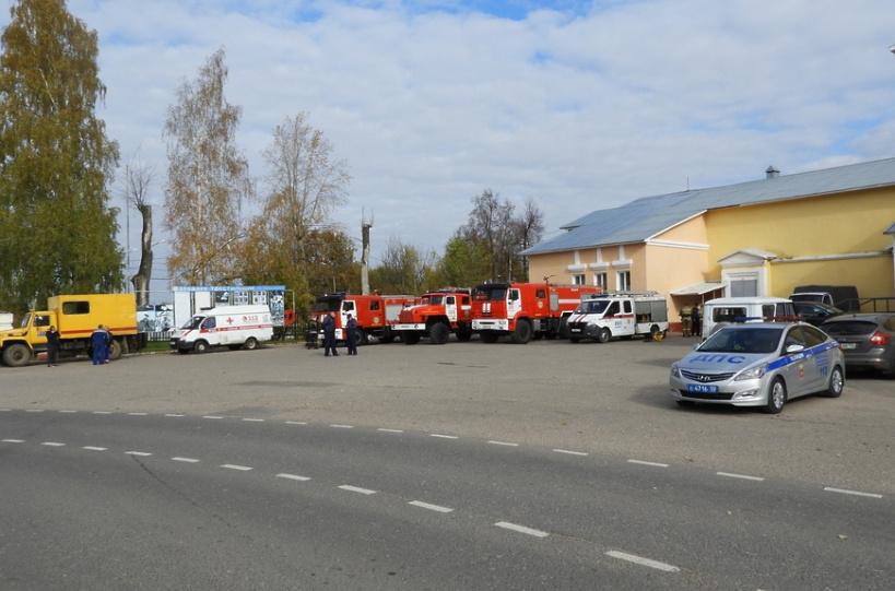Объектовая тренировка прошла в Волоколамске