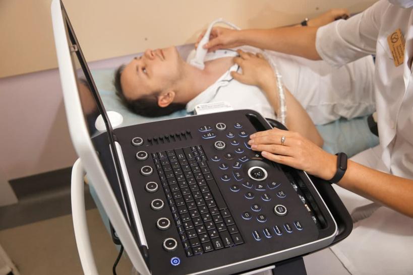 Один аппарат УЗИ поступил в Лотошинскую больницу в этом году