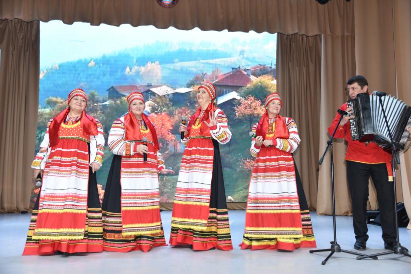 День старшего поколения отметили в Лотошинском Доме культуры