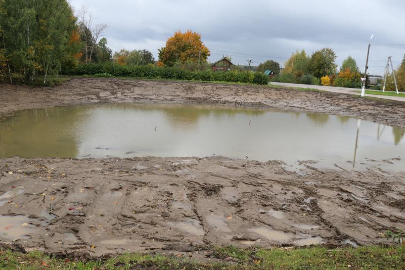 В горокруге Шаховская продолжаются работы по очистке прудов