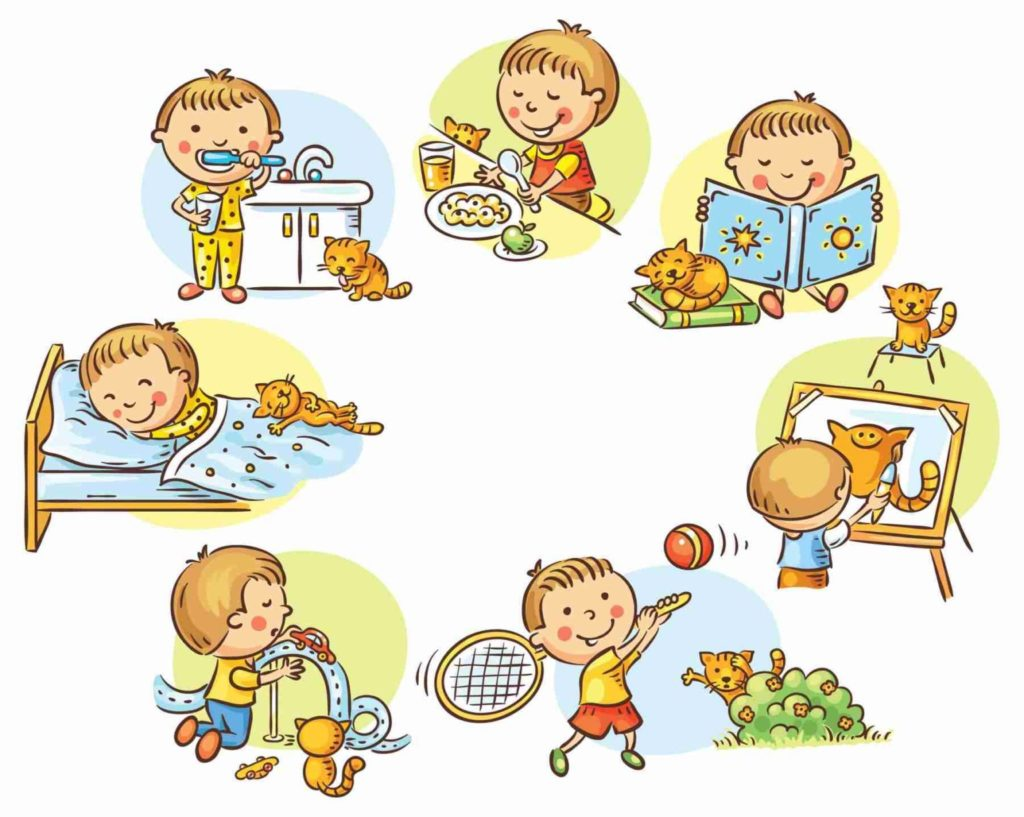 Как наладить режим дня ребенка