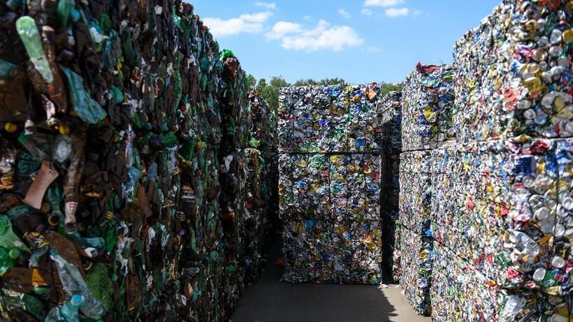 1,7 млн пластиковых бутылок и алюминиевых банок сдали жители Подмосковья в 2021 г